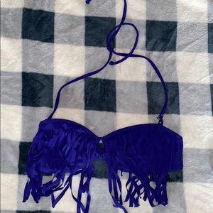 NWOT Roxy Fringe Bikini Top